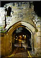 SK5804 : The Turret Gateway at night by Mat Fascione