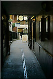 TQ3181 : Ye Olde Cheshire Cheese, London by Peter Trimming