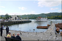 SD4096 : MV Teal Docking at Bowness by Nigel Mykura