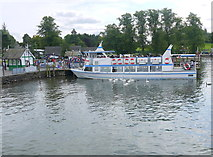 SD4096 : MV Miss Lakeland at Bowness Pier by Nigel Mykura