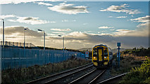 ND1559 : Afternoon arrival from the south at Georgemas Junction by Peter Moore