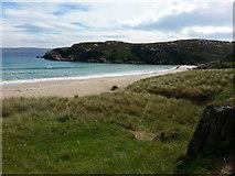 NC4465 : Tràigh Allt Chàilgeag beach and Rubb' an Daimh by Clive Nicholson