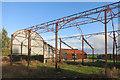 SU4586 : Sun Beams, Ellaway's Barn by Des Blenkinsopp