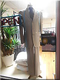 TQ2688 : Suit display in dry cleaner's shop, Market Place by David Howard