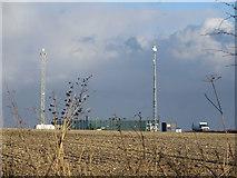 TA0114 : Telecomm Masts near Worlaby by David Wright