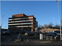 SP3379 : Partially demolished former sorting office by E Gammie