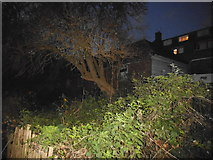 TQ2688 : Garage on Bute Mews, Hampstead Garden Suburb by David Howard
