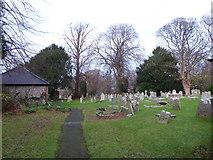 TQ5802 : St Mary, Willingdon: churchyard (c) by Basher Eyre