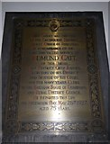 TQ5802 : St Mary, Willingdon: memorial (2) by Basher Eyre