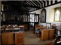 TQ5802 : Inside St Mary, Willingdon (D) by Basher Eyre