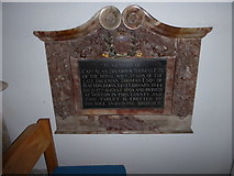 TQ5802 : St Mary, Willingdon: memorial (10) by Basher Eyre
