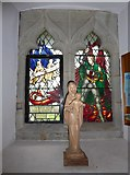TQ5802 : St Mary, Willingdon: stained glass window (I) by Basher Eyre