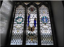 TQ5802 : St Mary, Willingdon: stained glass window (VII) by Basher Eyre