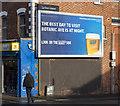 J3373 : 'Harp' advert, Belfast by Rossographer