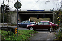 SU4726 : By the M3 Motorway by Peter Trimming