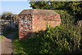 SU5366 : Pillbox by the Kennet & Avon Canal by N Chadwick