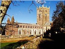 SM7525 : St.Davids Cathedral by Alan Hughes