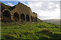 SE7098 : Rosedale East - calcining kilns by Ian Taylor