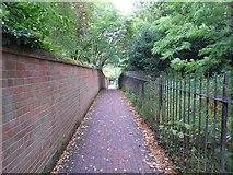 SU9644 : Godalming: Vicarage Walk and The Fox Way by Nigel Cox