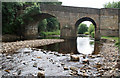NY9650 : Blanchland bridge by Jo Turner