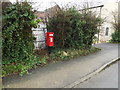 TL3656 : Private Victorian Postbox on Church Road by Adrian Cable