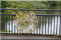 TR1234 : Ornamentation on the bridge across the Royal Military Canal by N Chadwick