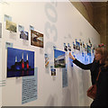 TQ2980 : 100 Buildings 100 Years exhibition by the 20th Century Society, Royal Academy, London by Robin Stott