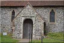TQ4110 : Porch, Church of St Michael by N Chadwick