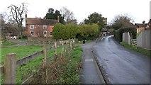 TQ4655 : Church Road, Brasted by David Martin