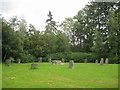 SO1091 : Gorsedd Circle, Dolerw Park, Newtown, Powys by Robin Stott