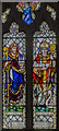 TF0279 : Stained glass window, St Chad's church, Dunholme by Julian P Guffogg