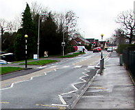 ST3091 : Zebra crossing, Almond Drive, Malpas, Newport by Jaggery