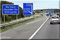 SE3923 : Eastbound M62 near to Normanton by David Dixon