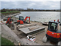 SP9114 : Repairing Startops Reservoir (17) Packing up the Equipment by Chris Reynolds