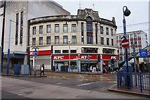 SK3587 : KFC on Commercial Street, Sheffield by Ian S