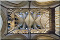 SK9771 : North east transept vaulting, Lincoln Cathedral by J.Hannan-Briggs