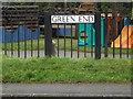 TL3856 : Green End sign by Adrian Cable