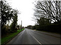 TL3656 : Entering Toft on the B1046 Comberton Road by Adrian Cable