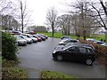 SX4966 : The car park for Buckland Abbey visitors by David Smith