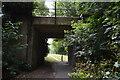 TQ4110 : Railway bridge by N Chadwick