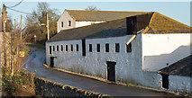 NZ2118 : Barn on east side of New Lane in Denton by Trevor Littlewood