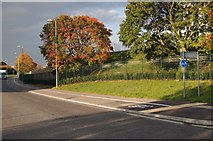 SU6252 : View along Houndmills Road by Given Up