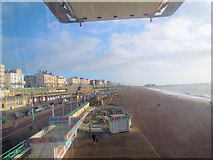 TQ3103 : View of crazy golf from Brighton Wheel by Paul Gillett