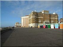 TQ2804 : Flats on King's Esplanade, Hove by Paul Gillett