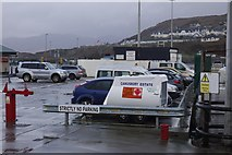 NM6797 : Mallaig Harbour by Richard Webb