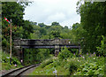 SK0048 : Podmore Bridge south-east of Consall, Staffordshire by Roger  Kidd