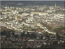 SO9422 : Cheltenham viewed from Leckhampton Hill by Philip Halling