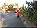 SJ8790 : Edward VIII postbox on Mauldeth Road by Gerald England