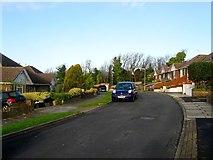 TQ3503 : Ainsworth Close, Ovingdean by Simon Carey