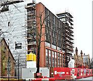 J3372 : Former library, Queen's University, Belfast - December 2015(2) by Albert Bridge